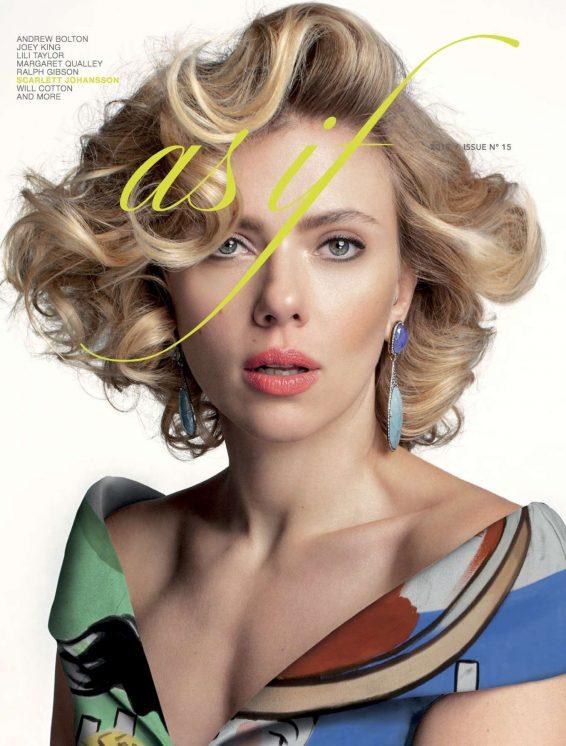 Scarlett Johansson - As If Magazine (Spring/summer 2019)