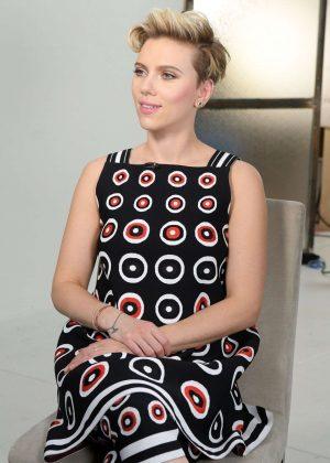 Scarlett Johansson at Good Morning America in NY