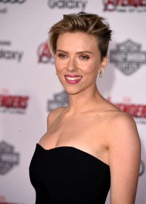 "Scarlett Johansson - ""Avengers: Age Of Ultron"" Premiere in Hollywood"