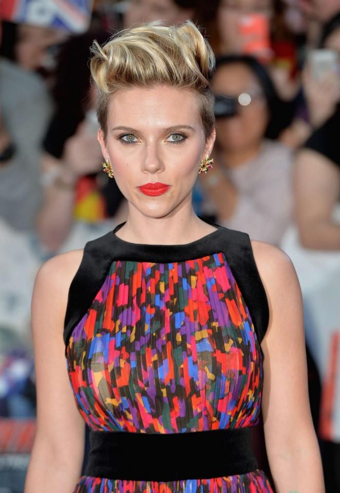 """Scarlett Johansson – """"Avengers: Age Of Ultron"""" Premiere in London"""