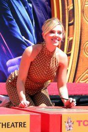 Scarlett Johansson - Avengers: Endgame Hand Print Ceremony in LA