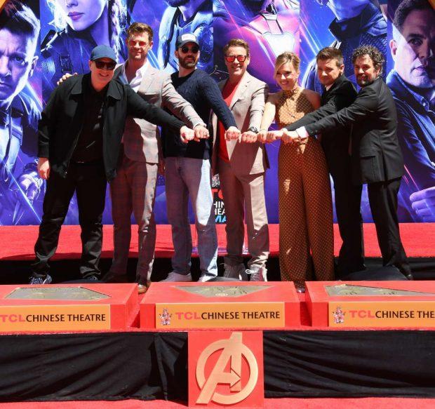 Scarlett Johansson: Avengers: Endgame Hand Print Ceremony -11