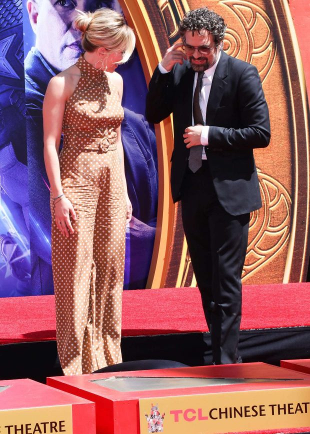 Scarlett Johansson: Avengers: Endgame Hand Print Ceremony -13