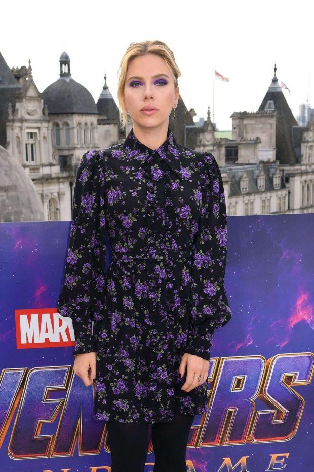 Scarlett Johansson: Avengers Endgame Photocall -05