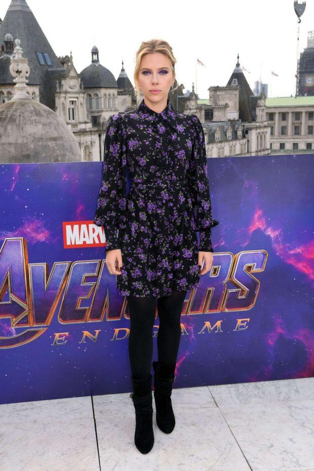 Scarlett Johansson: Avengers Endgame Photocall -09