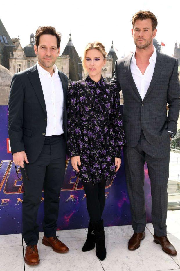 Scarlett Johansson: Avengers Endgame Photocall -24