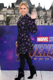 Scarlett Johansson - 'Avengers Endgame' Photocall in London