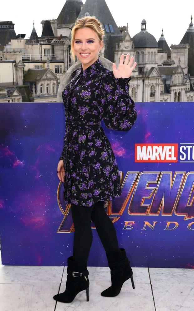 Scarlett Johansson - 'Avengers Endgame' Photocall in London