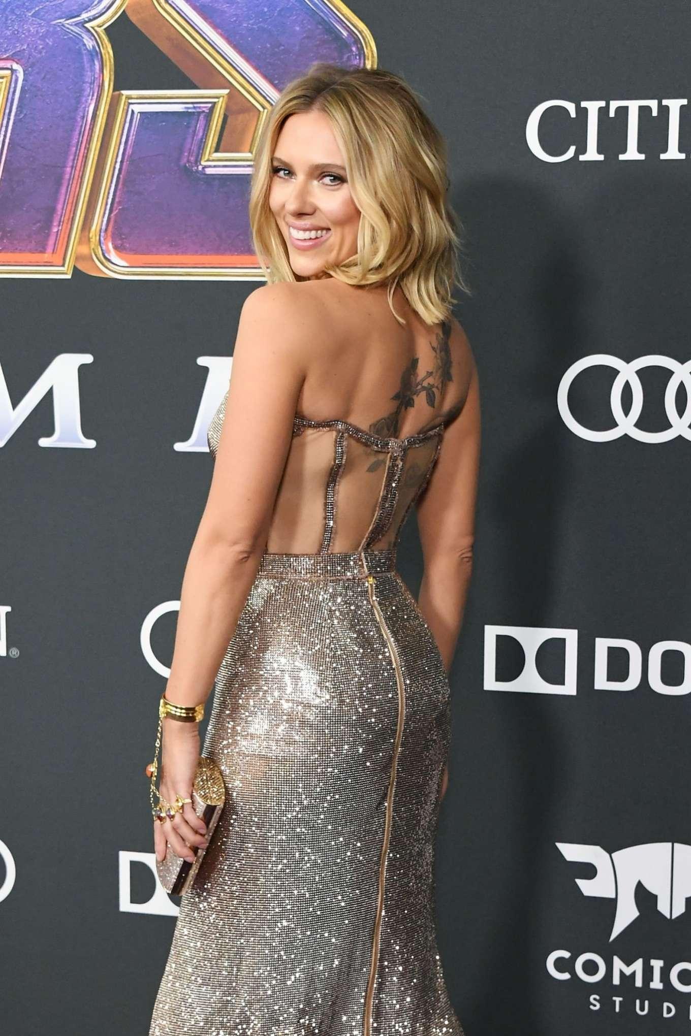 Scarlett Johansson Avengers Endgame Premiere In Los Angeles Gotceleb