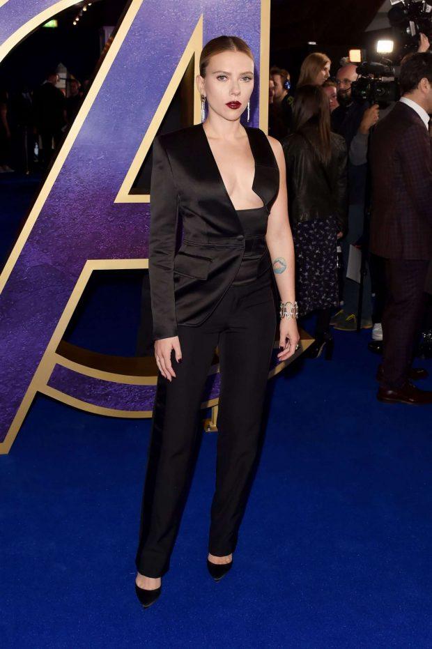 Scarlett Johansson: Avengers Endgame UK Fan Event -02