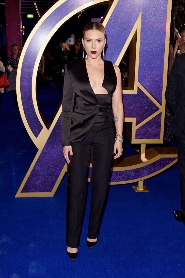 Scarlett Johansson: Avengers Endgame UK Fan Event -06