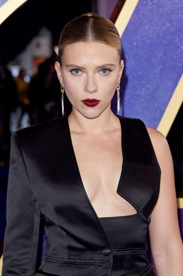 Scarlett Johansson - 'Avengers Endgame' UK Fan Event in London