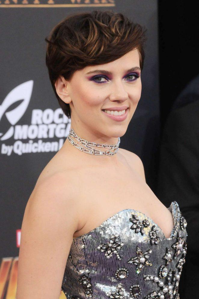 Scarlett Johansson - 'Avengers: Infinity War' Premiere in Los Angeles