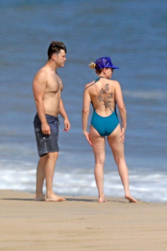 Scarlett Johansson 2019 : Scarlett Johansson – Bikini candids at a beach in NY -29