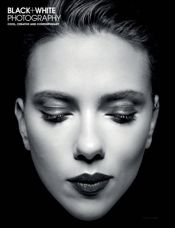 Scarlett Johansson - Black and White Photography Issue 247 (December 2020)
