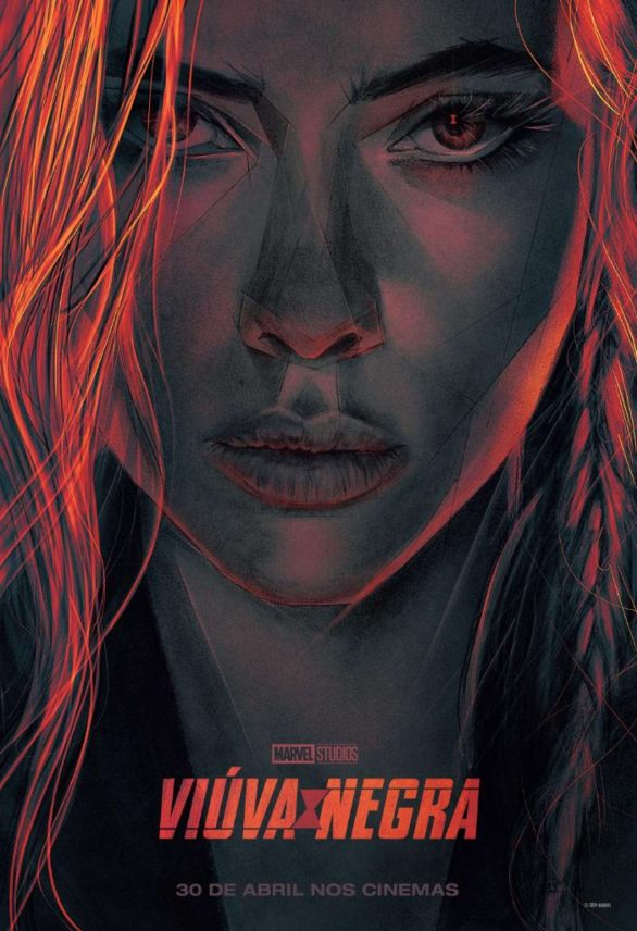 Scarlett Johansson - 'Black Widow' Posters and Promotional Photos 2020