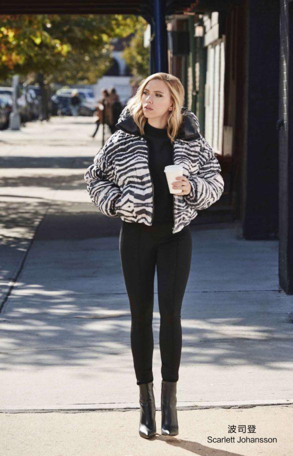 Scarlett Johansson - Bosideng 2019 Campaign