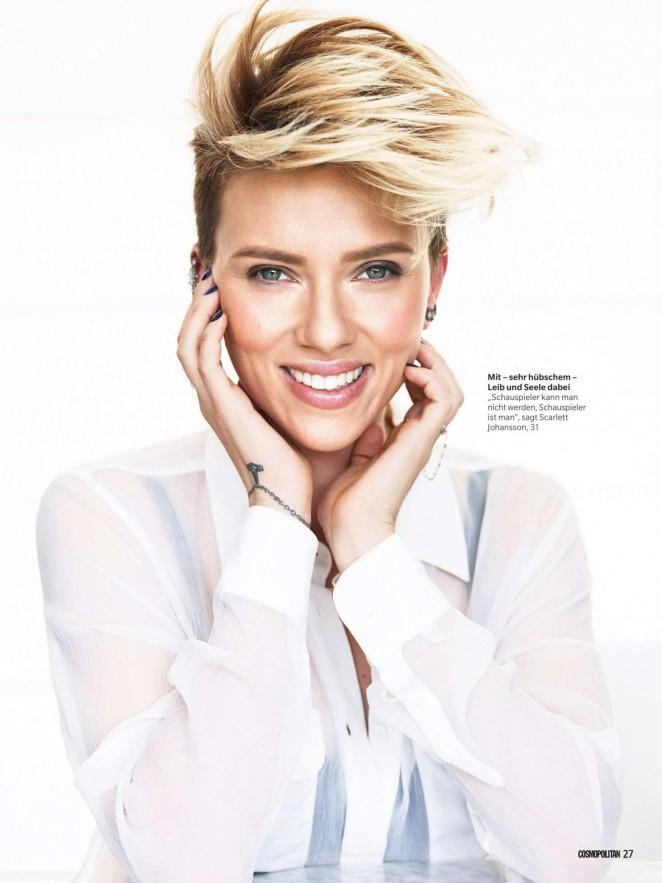 Scarlett Johansson - Cosmopolitan Germany (Februay 2016)
