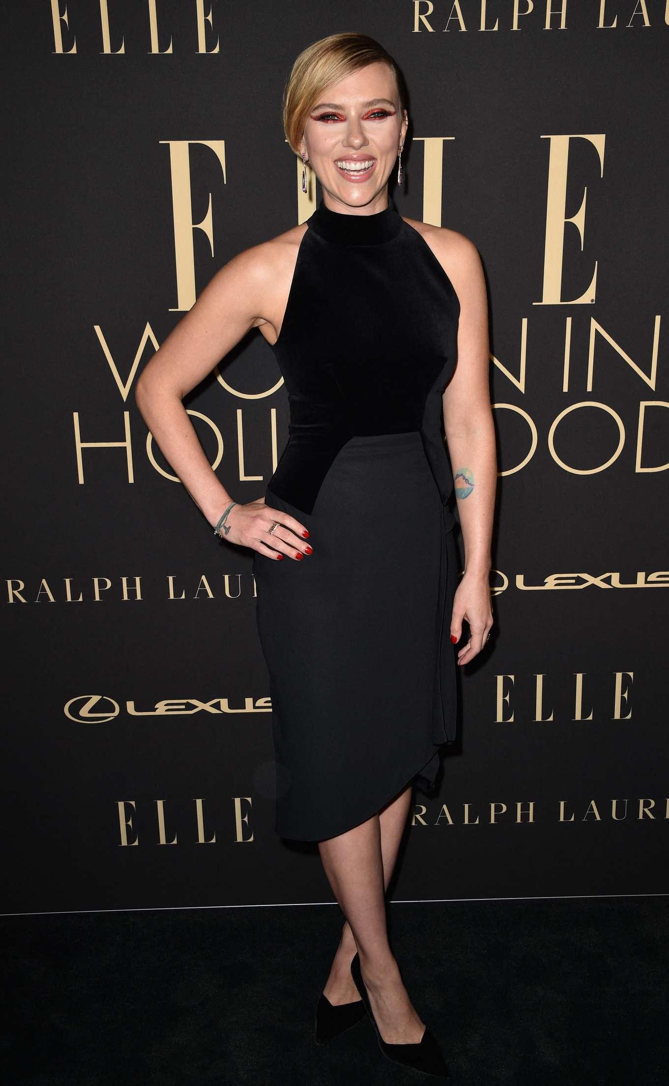 Scarlett Johansson - ELLE's 26th Annual Women in Hollywood Celebration in LA