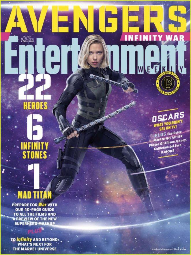 Scarlett Johansson - Entertainment Cover Magazine (March 2018)