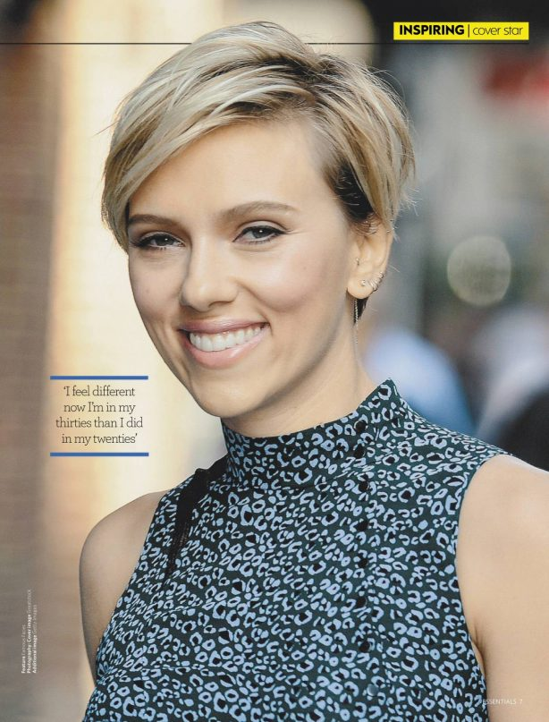 Scarlett Johansson - Essentials South Africa Magazine (June 2020)