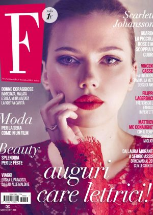 Scarlett Johansson - F Magazine (December 2016)