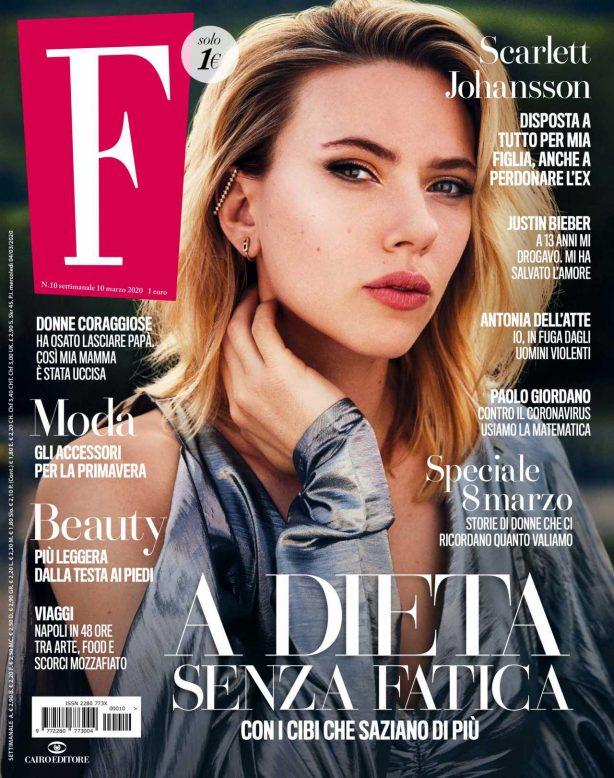 Scarlett Johansson - F. Magazine March 2020