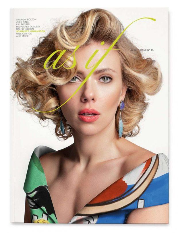Scarlett Johansson for As If Magazine 2019