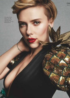 Scarlett Johansson for Marie Claire UK (May 2017)