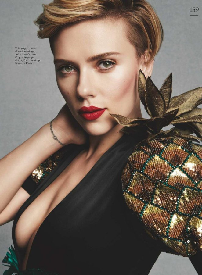 Scarlett Johansson For Marie Claire Uk May 2017
