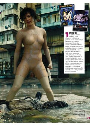 Scarlett Johansson - Fotogramas Magazine (April 2017)