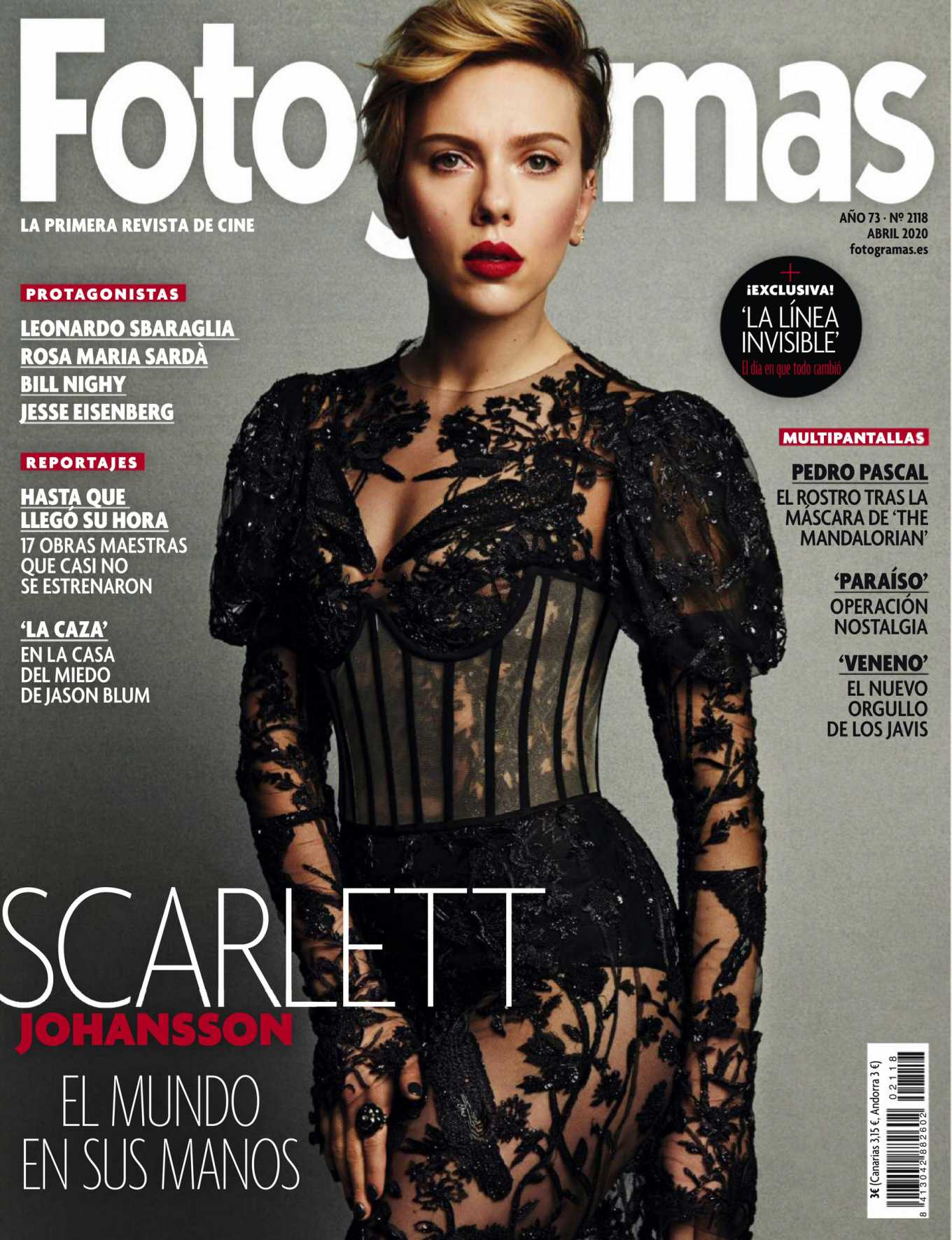 Scarlett Johansson - Fotogramas Magazine (April 2020)