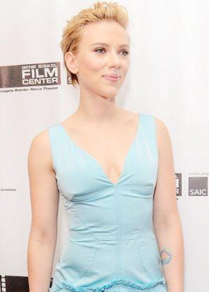 Scarlett Johansson - Gene Siskel Film Center 2016 Renaissance Award in Chicago