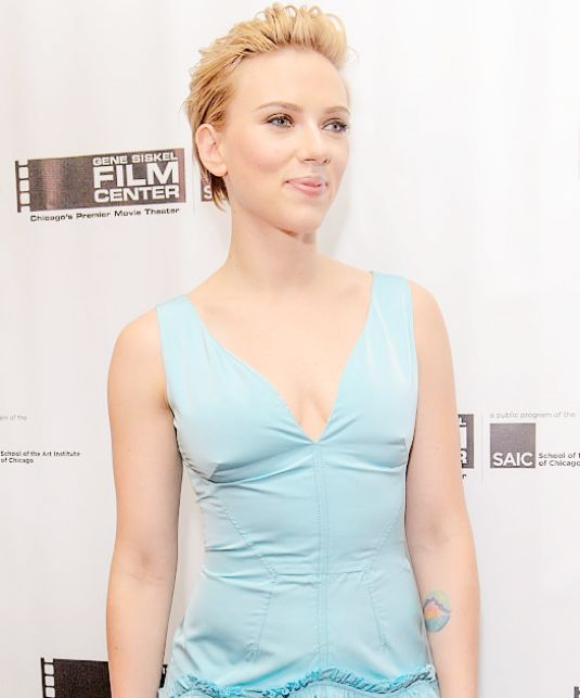 Scarlett Johansson – Gene Siskel Film Center 2016 Renaissance Award in Chicago