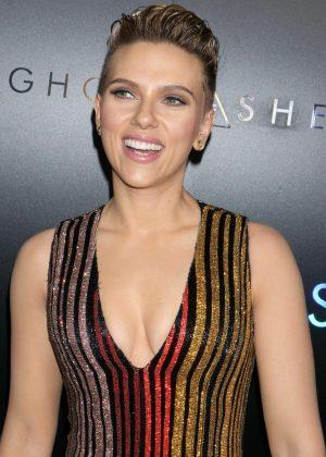 Scarlett Johansson - 'Ghost In The Shell' Premiere in New York