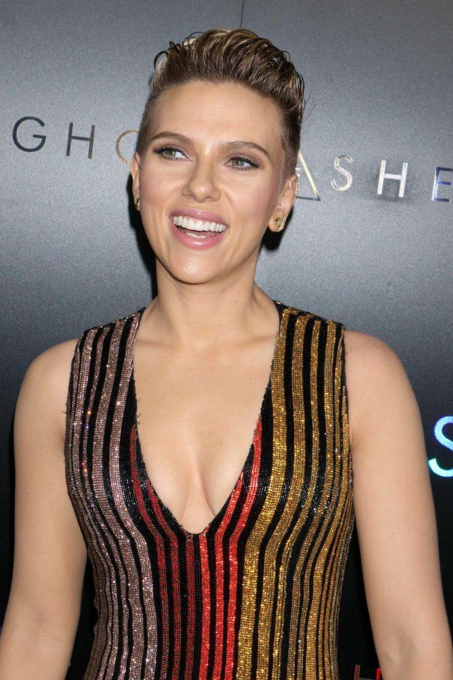 Scarlett Johansson – 'Ghost In The Shell' Premiere in New York