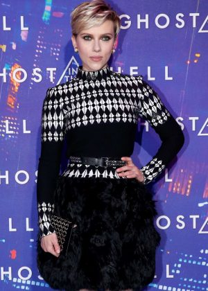 Scarlett Johansson - 'Ghost in the Shell' Premiere in Paris