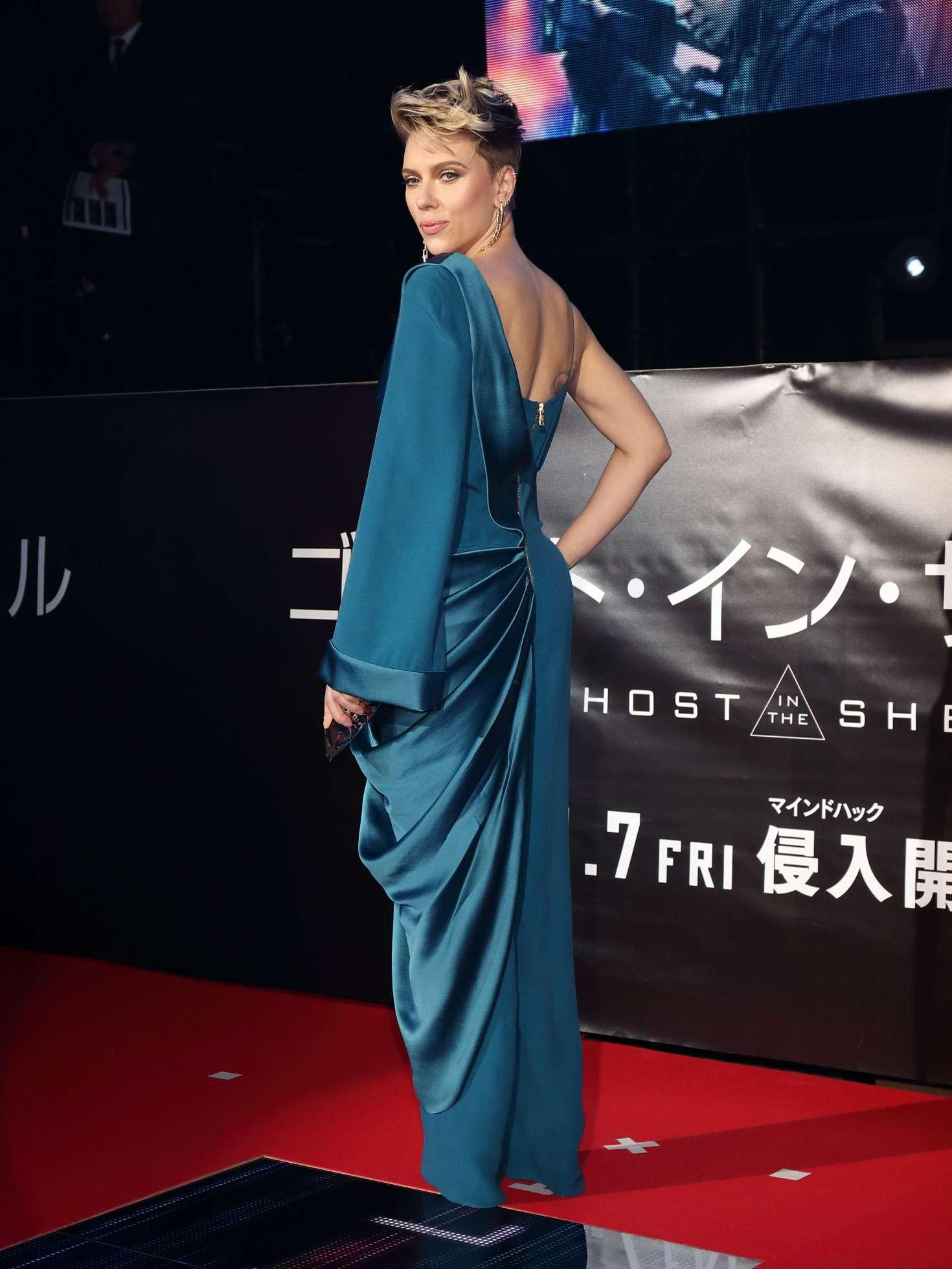 Scarlett Johansson Ghost In The Shell Premiere In Tokyo 02 Gotceleb