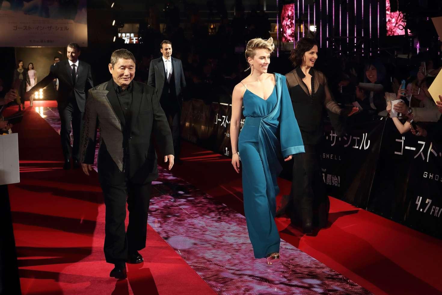 Scarlett Johansson Ghost In The Shell Premiere In Tokyo 07 Gotceleb