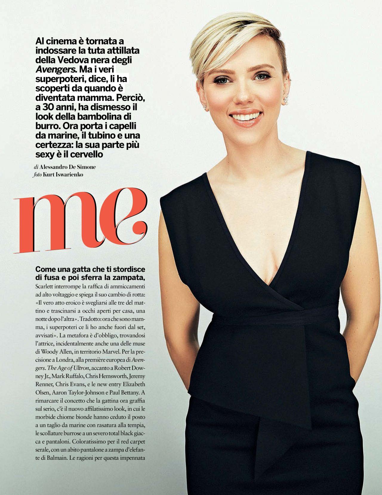 Scarlett Johansson: Gioia Spain 2015 -01
