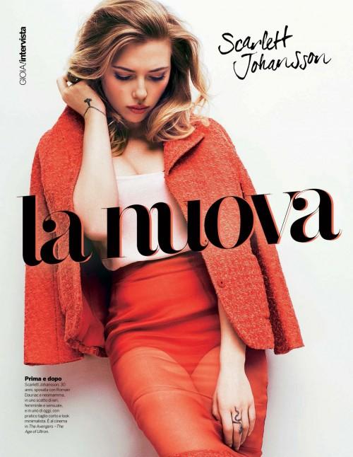Scarlett Johansson - Gioia Spain Magazine (May 2015)