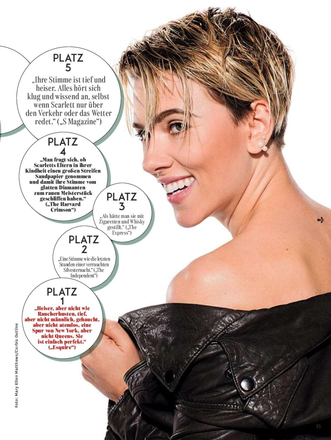 Scarlett Johansson - Glamour Germany Magazine (March 2016)