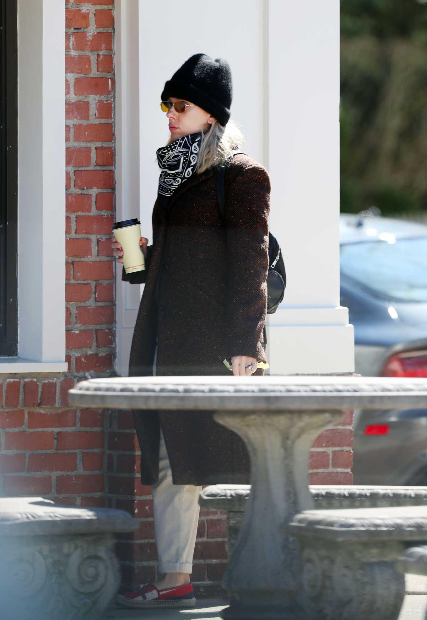 Scarlett Johansson 2020 : Scarlett Johansson – Grocery shopping in the Hamptons-02