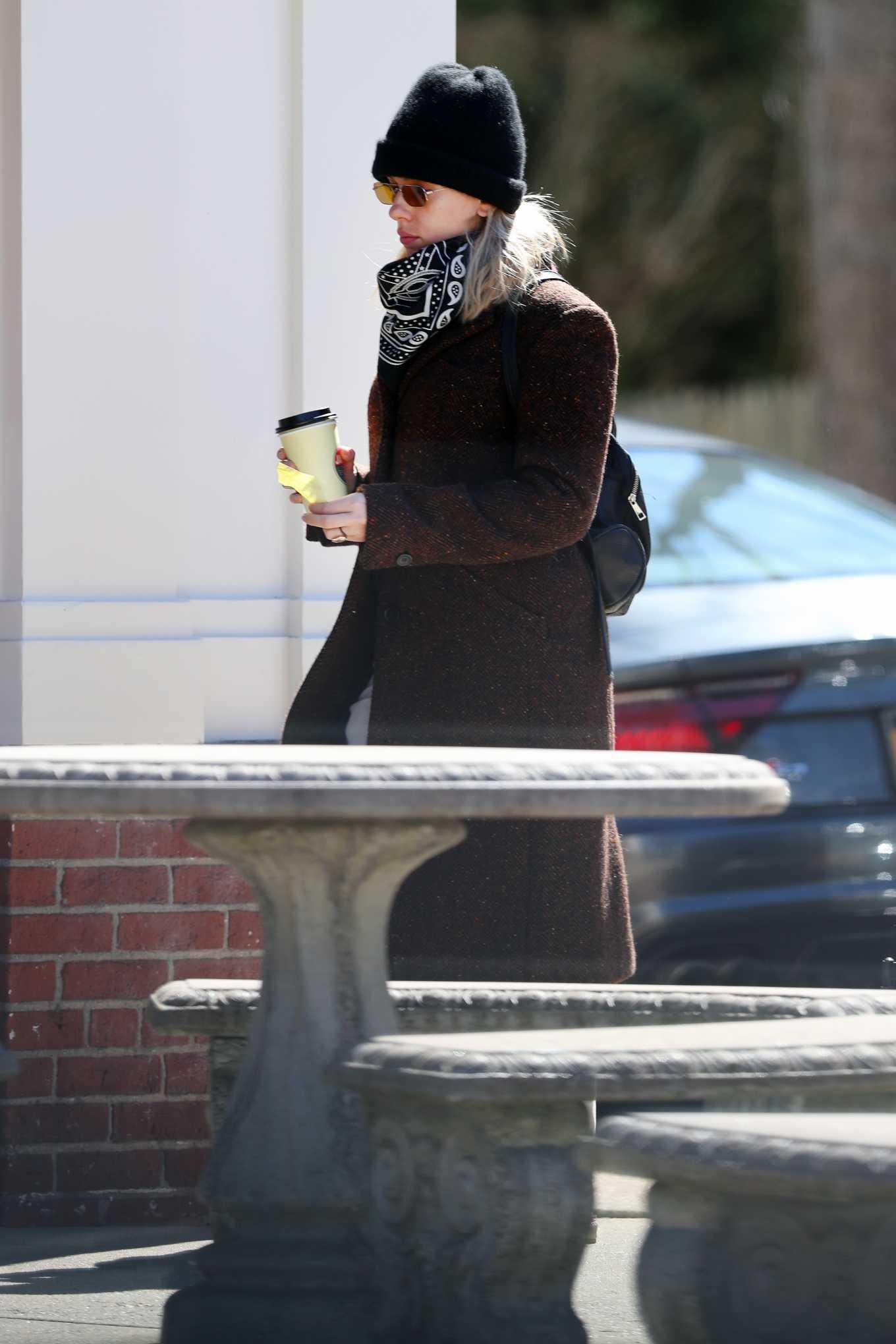 Scarlett Johansson 2020 : Scarlett Johansson – Grocery shopping in the Hamptons-19