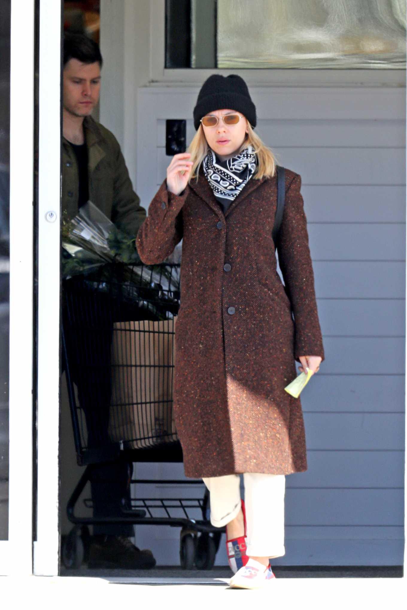 Scarlett Johansson 2020 : Scarlett Johansson – Grocery shopping in the Hamptons-22