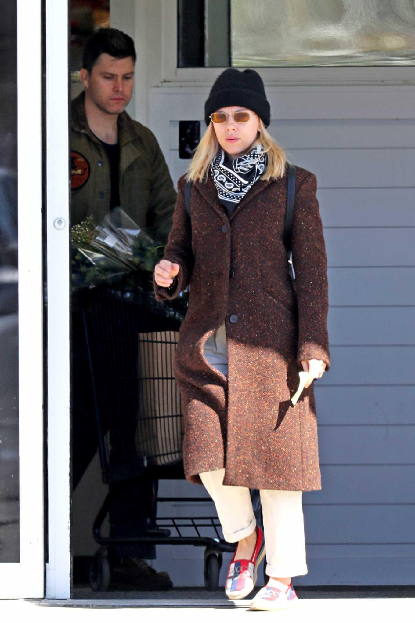 Scarlett Johansson 2020 : Scarlett Johansson – Grocery shopping in the Hamptons-23