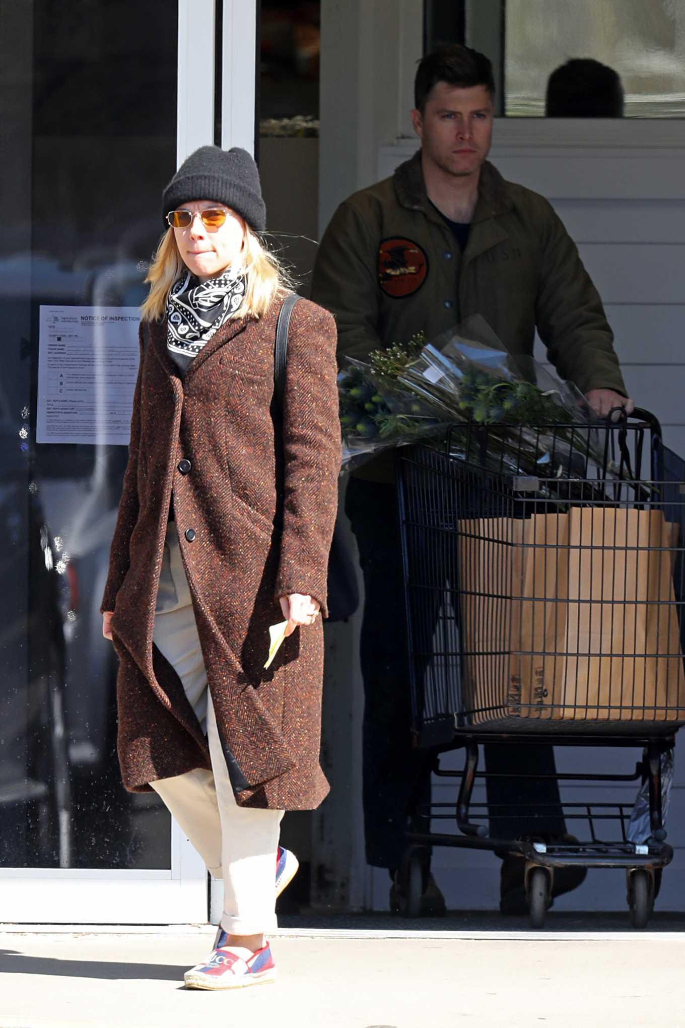 Scarlett Johansson 2020 : Scarlett Johansson – Grocery shopping in the Hamptons-25