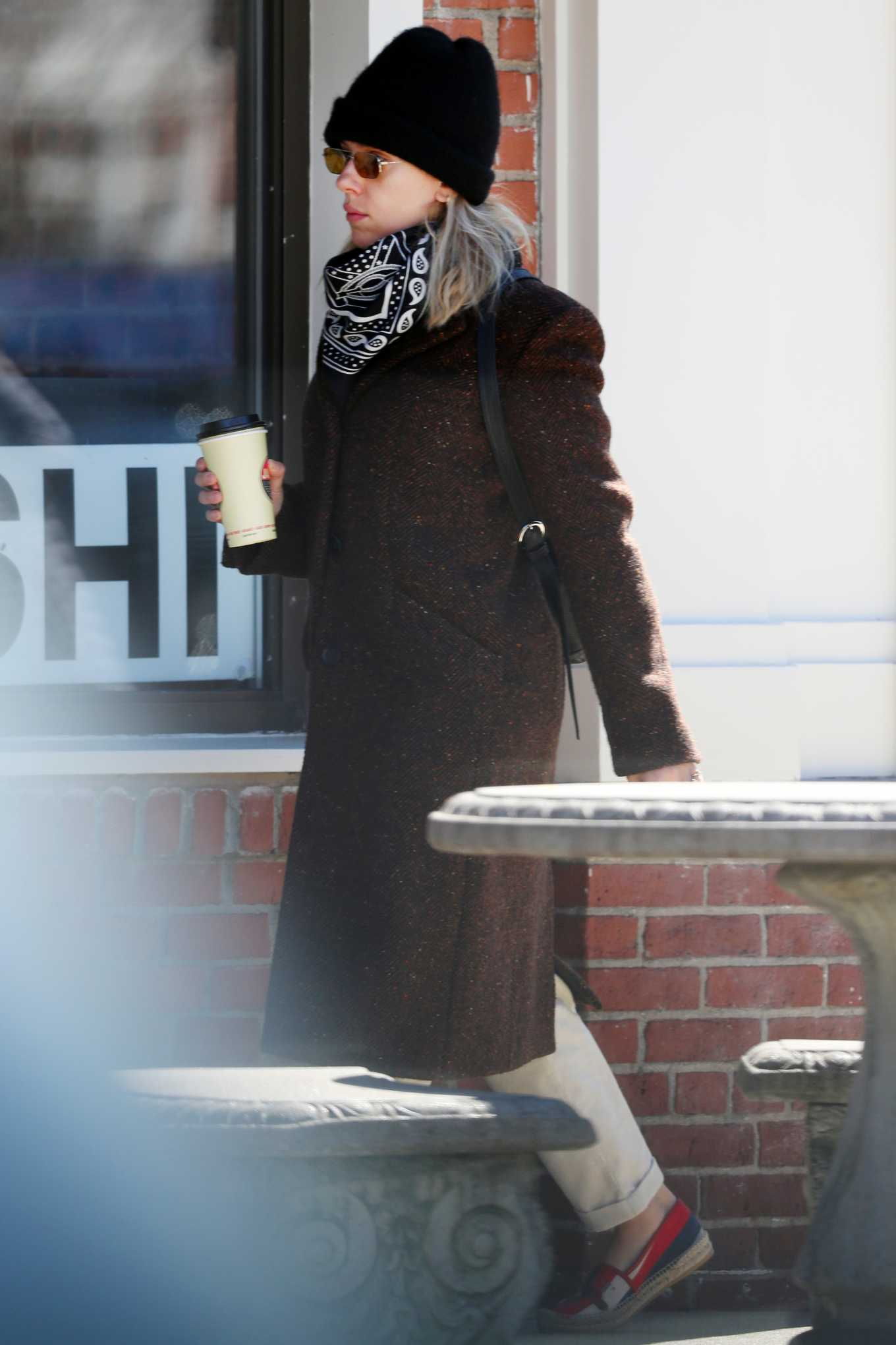 Scarlett Johansson 2020 : Scarlett Johansson – Grocery shopping in the Hamptons-27