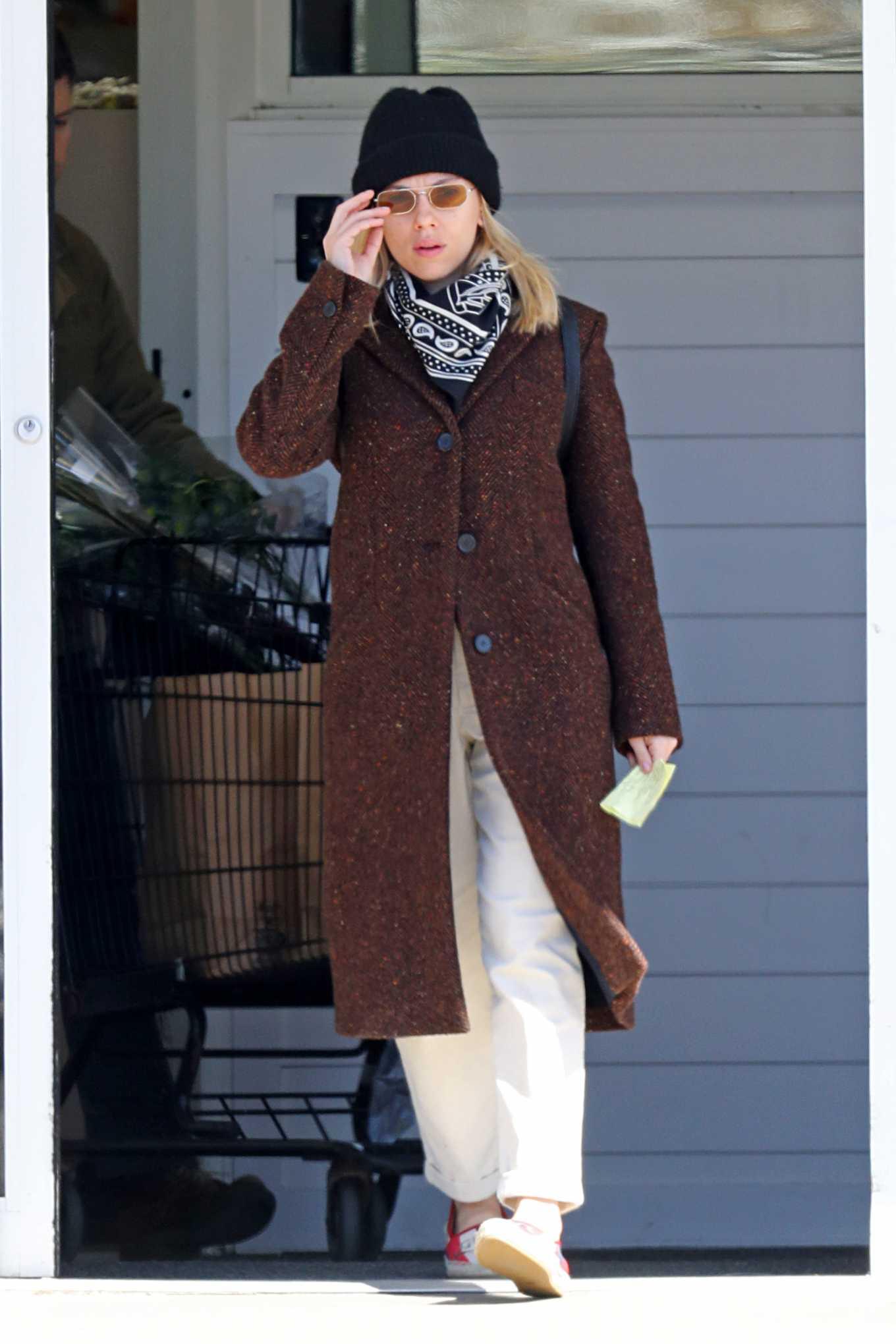 Scarlett Johansson 2020 : Scarlett Johansson – Grocery shopping in the Hamptons-28