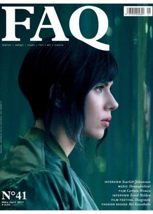 Scarlett Johansson in FAQ Magazine (April 2017)